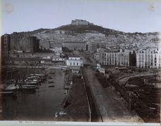 Sommer, Giorgio; Napoli, Panorama dal Molo, ca 1880.