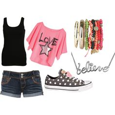 Summer:), created by mariah-hammond on Polyvore