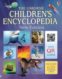 The Usborne Children's encyclopedia is a must have in our homeschool library. With internet links and QR links, your kids will have so much knowledge at their fingertips that they won't want to put this book down.