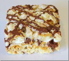 S'mores Rice Krispies Treats at Baking and Boys!