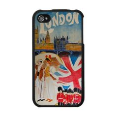London Vintage Poster Case For The Iphone 4