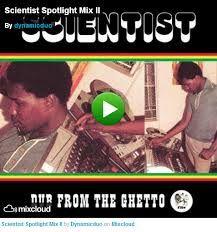 Hopeton Brown aka Scientist. Dub reggae crazy sounds