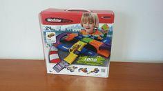 Pista modular Coches (6 a 12 años): Pista modular. Puedes construir tus propias pistas. Desarrolla el pensamiento y la creatividad 3D. 2 coches incluidos.  Causa beneficiada: Tú puedes salvar una vida