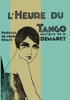 Bilderesultat for poster tango