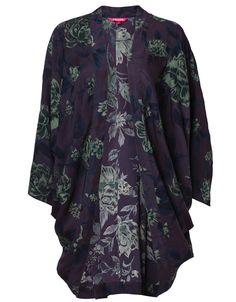 AIDA kimono multi | Print | Tunic | Tunic | Clothing | INDISKA Shop Online
