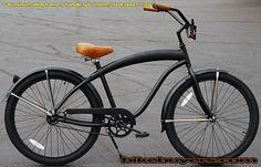 Amazon.com: Aluminum frame, Fito Modena EX Alloy 1-speed All Matte Black men's Beach Cruiser Bike Bicycle Micargi Schwinn Nirve Firmstrong: ...