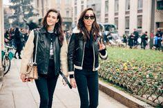 VITTORIA AND YASMIN, Milan fall 2017 – ModelsJam
