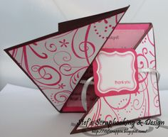 Stampin Up Gift Bag Ideas | Stefs Scrapbooking & Design: Cute thank you card - Stampin' up