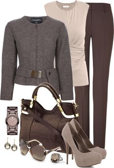 """The jacket...""""Crazy For Chocolate"""" by averbeek on Polyvore...  I think I'd feel like Olivia Pope. Which is a good thing."""