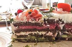 "Does anybody know how to say ""obsessed"" in Swedish? Because this is what I have been since I first laid eyes on a Swedish Sandwich cake on Pinterest. My brain has been fussing and fuming over these…"