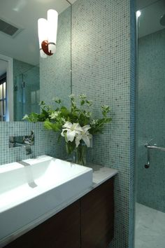 Walker Zanger Mantra in Castro Bathroom designed by Mark Brand Architecture