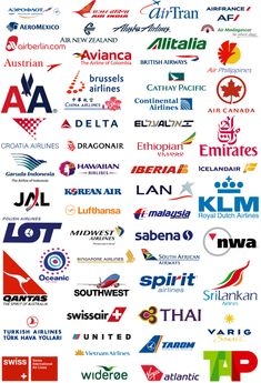 Airliner Logos