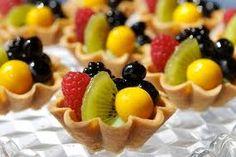 Yummy fruit tarts