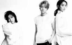 f(x)'s Victoria, Amber, and Luna for The Celebrity