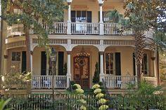 Victorian House, Savannah, GA by Jake Slagle, via Flickr