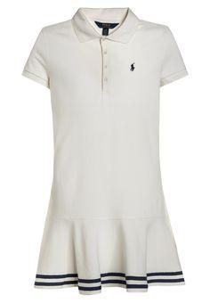 Polo Ralph Lauren Robe d'été - deckwash white - ZALANDO.CH Polo Ralph Lauren, Ava, Peplum, Blouse, Birthday, Long Sleeve, Sleeves, Fashion, Dress
