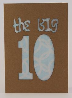 Birthday Card Age 10 £2.50