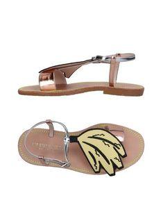 LEO Sandals Copper Women