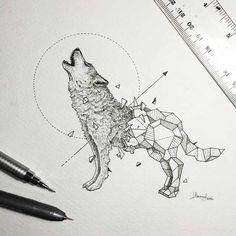 Geometric Beasts - Favorite for future tattoo ideas - Imgur