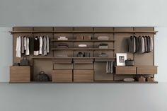 Rimadesio - Collezione notte Innsbruck, Glass Partition Wall, Aluminium Ladder, Small Bookcase, Modular Structure, Hanging Bar, Drawer Unit, Rack Shelf, Door Wall