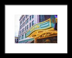 Kansas City Framed Print featuring the photograph Midland Theater by Pamela Williams