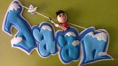 Un sueño, una manualidad: Letreros infantiles en goma eva