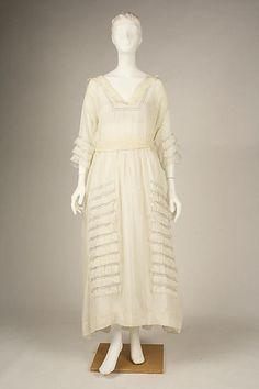 Dress  1914-1918  The Metropolitan Museum of Art