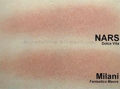 Drugstore dupe alert! Skincare Dupes, Beauty Dupes, Beauty Makeup, Beauty Hacks, Makeup Style, Blush Dupes, Mac Dupes, Nars Dolce Vita Dupe, Cruelty Free Makeup Dupes