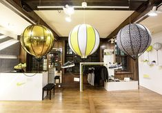 Nike x Liberty pop up and atrium by Hotel Creative, London store design