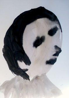 Man by Shohei Hanazaki Halloween Face Makeup, Abstract, Posters, Artists, Art, Summary, Poster, Billboard, Artist