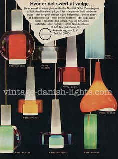 Did Iittala make glass for Nordisk Solar? | Vintage danish lights blog