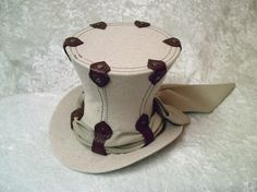 Riveted top hat