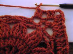 omⒶ KOPPA: virkattu kukkaneliö - ohje Crochet Flower Squares, Crochet Granny, Crochet Flowers, Knit Crochet, Crochet Chart, Crochet Patterns, Crochet For Beginners, Crochet Clothes, Projects To Try