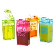 REUSABLE JUICE BOXES | reusable juice box, kids lunch box | UncommonGoods