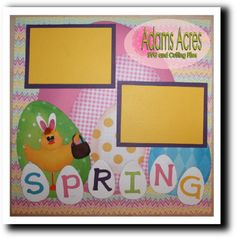 Spring Chick SVG files and digi stamps.