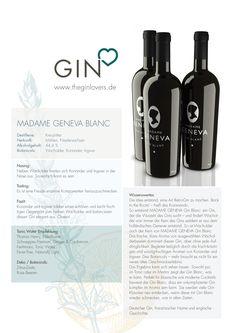 Madame Geneva Blanc Dry Gin / Gin Review
