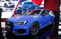 Strakblauw: de nieuwe Audi RS4 Avant Audi Rs4, Vw, Golf, Cars, Vehicles, Blue, Autos, Automobile, Car