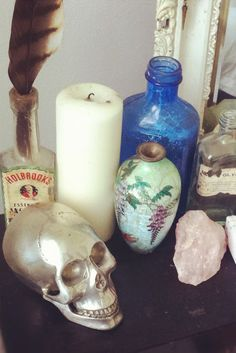 Moon to Moon: Bohemian accessories for the home : Skull ornaments ...