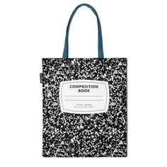 A Composition Notebook TOTE BAG!  (Outofprint.com) 《- Really, who could say they DON'T want this?  ^-^