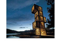 Belvédère de Seljord, Norvège - D'architectures