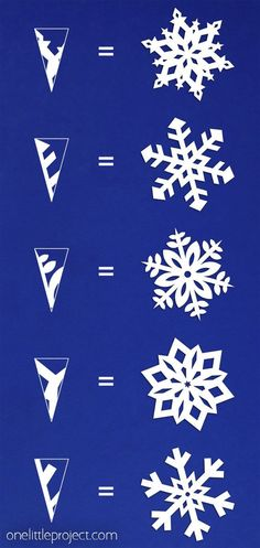 These paper snowflakes are SO FUN and really simple to make! Such a classic craft tutorial that teaches you how to make perfect snowflakes every time! home crafts How to Make Paper Snowflakes Christmas Projects, Holiday Crafts, Fun Crafts, Christmas Diy, Christmas Origami, Christmas Gift Ideas, Christmas Crafts With Paper, Easy Crafts With Paper, Simple Paper Crafts