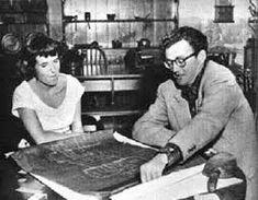 Robert Walker and wife Barbara Ford
