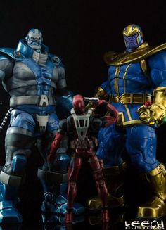 apocalypse (Marvel Legends) Custom Action Figure by Leech Base figure: MS Hulk with Terrax head