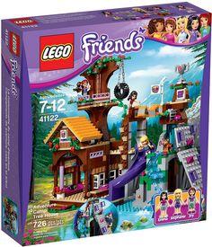 LEGO Friends 41122 - Adventure Camp Tree House #lego #legofriends #legofriends2016