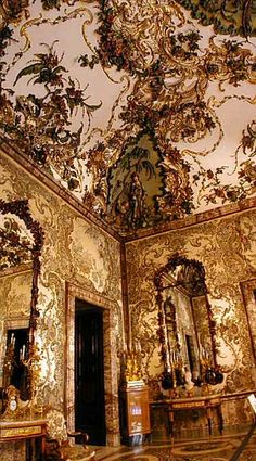The Gasparini room in the Royal Palace of Madrid, SPAIN.