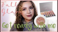 Get Ready With Me: Sparkly Fall Smoky Eye | Jaclyn Hill Morphe Palette &...
