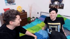 You know dan called phil dad a few times and called him Lester a few times, I wonder why