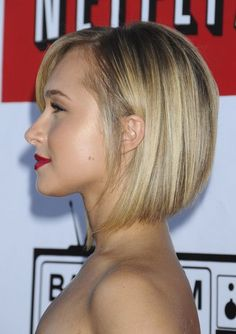 Hayden Panettiere Bob Haircut