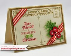 Christmas Cards Stampin' Up!