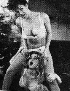 Uschi digart and unknown woman lesbian scene - 1 part 8